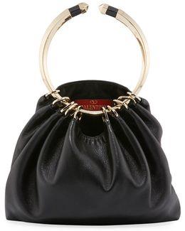 Bebop Ring Loop-handle Clutch Bag