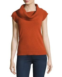 Aflina Cowl-neck Cashmere Sweater