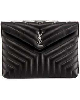 Monogram Loulou Quilted Document Holder