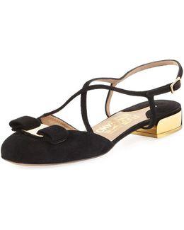Sandal With Vara Bow