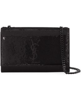 Monogram Kate Sequined Chain Bag