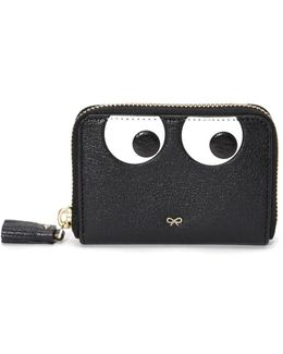 Small Zip-around Eyes Wallet