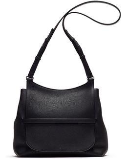 Sideby Pebbled Calfskin Crossbody Bag