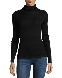 Cenelle Wool/silk Turtleneck Sweater