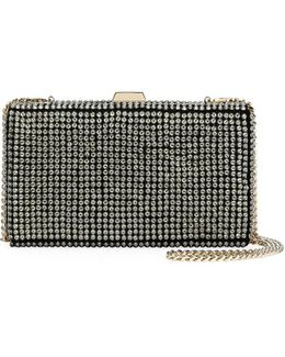 Secrets Studded Minaudiere With Chain