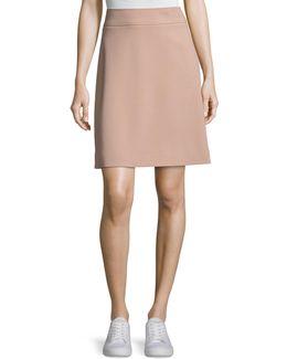 Camogie High-waist Mini Skirt