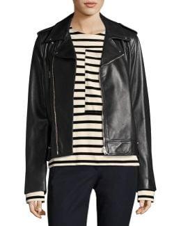 Ryder Biker Leather Jacket