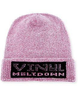 Vinyl Meltdown Chenille Hat