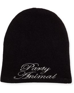 Party Animal Knit Beanie