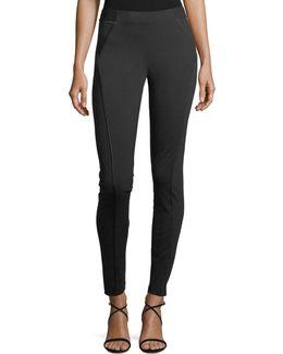 Trina Skinny Stretch-knit Ankle Pants