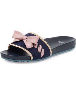 S17 Rnwy Knit Slide