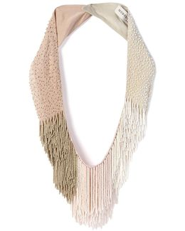 Petite Le Marcel Beaded Fringe Necklace