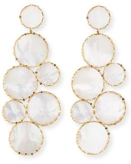 Mega Ibiza Mother-of-pearl Earrings