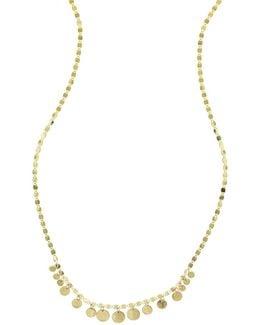 Fifteen Mini Disc Chain Choker Necklace