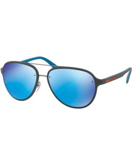Linea Rossa Men's Aviator Sunglasses
