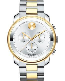 44mm Bold Chronograph Watch