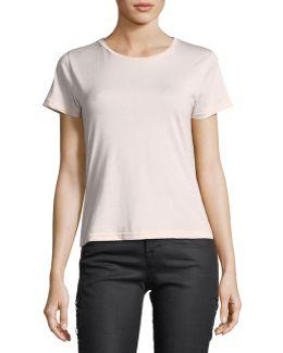 811 Crewneck Short-sleeve Cotton Tee