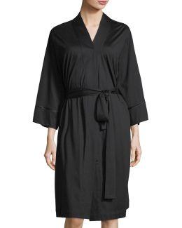 Bliss Cotton Short Robe