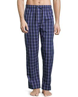 Barker 15 Check Cotton Lounge Pants
