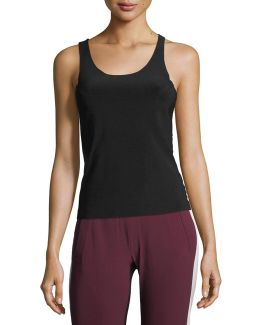 Modern Scoop-neck Racer Tank