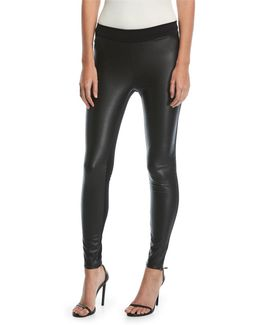 Lindsey Faux-leather Leggings