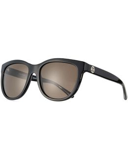 Monochromatic Square Acetate Sunglasses