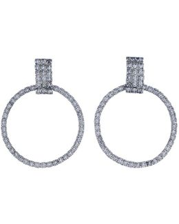 Stefano Crystal Statement Earrings