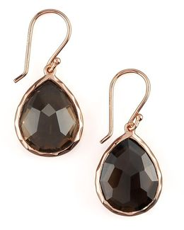 Rose Teardrop Earrings