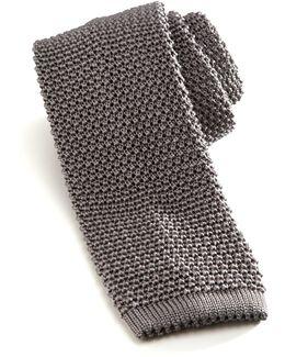 Silk Knit Tie
