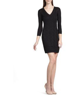 Black Zig Zag Dress