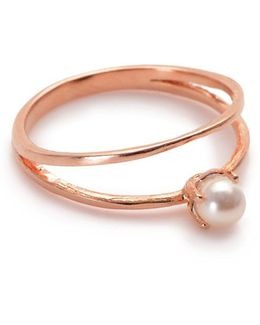 Pearl Illusion Ring