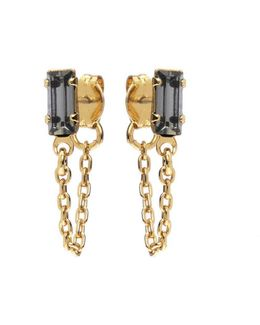 Baguette Continuous Earrings
