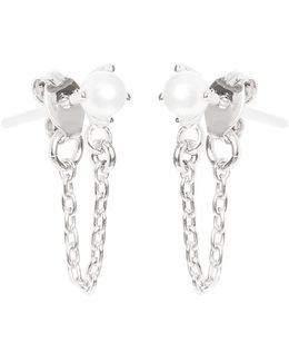 Pearl Continuous Earrings