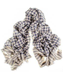 Jermyn Merino Wool And Silk Scarf