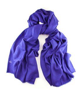 Purple Handwoven Cashmere Shawl