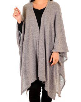 Warm Grey Cashmere Coatigan
