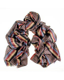 Montpelier Merino Wool And Silk Scarf
