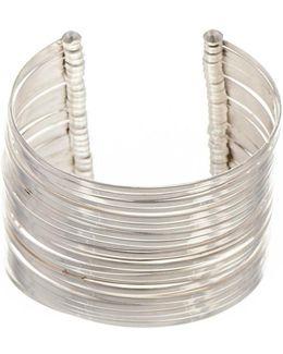 Multi Strand Sterling Silver Cuff