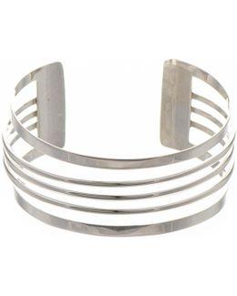 Geometric Sterling Silver Cuff