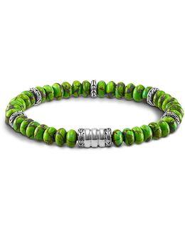 Mohave Bedeg Men's Beaded Bracelet