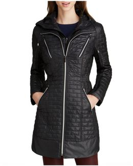 Coat - Mini Brick Quilted