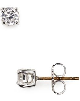 Mini Cubic Zirconia Stud Earrings