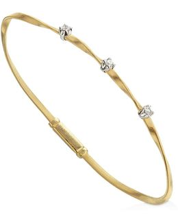 Marrakech Bracelet In 18k Yellow Gold With Diamonds