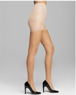 Sheer Essentials Stretch Control Top Tights