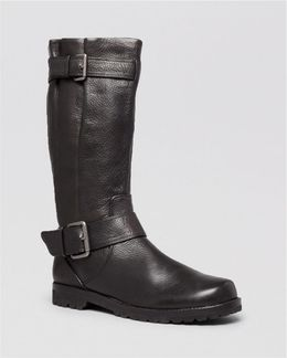 Boots - Buckled Up Tall Shaft