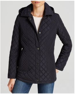 Coat - Quilted Snap Close