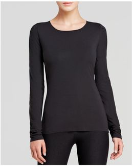 Pure Pullover Long-sleeve Top