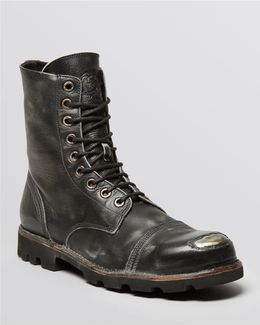 Hardkor Steel Lace-up Boots