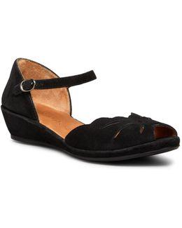 Mary Jane Demiwedge Sandals - Lilymoon