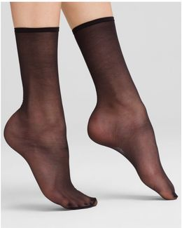 Sheer Anklet Socks
